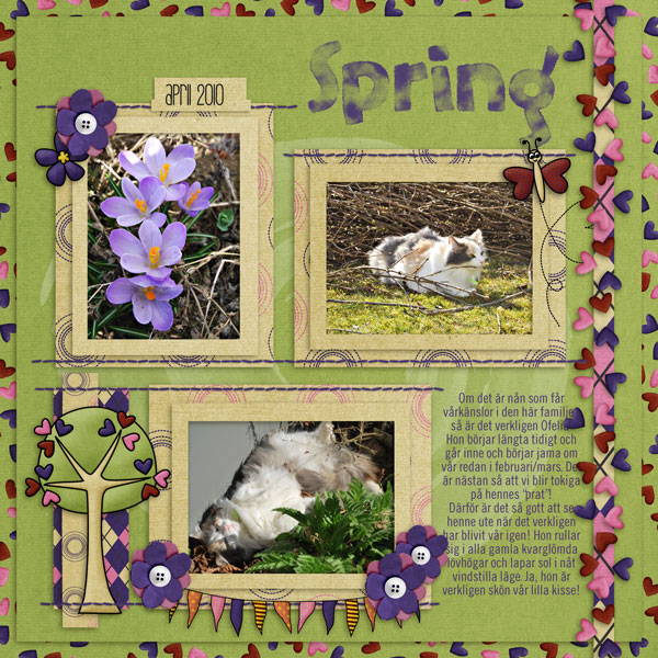 Ofelia in the spring
