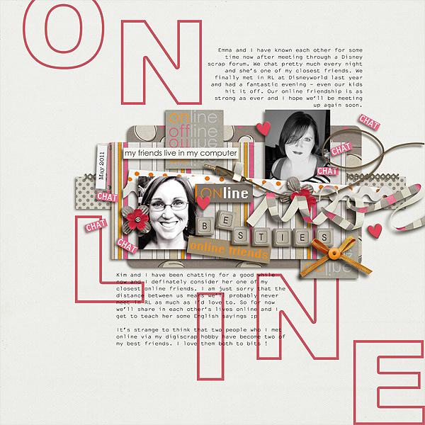 Online besties