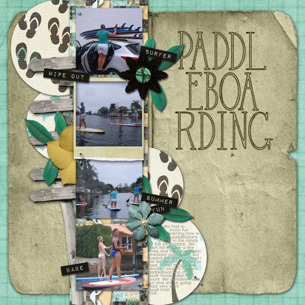Paddelboarding