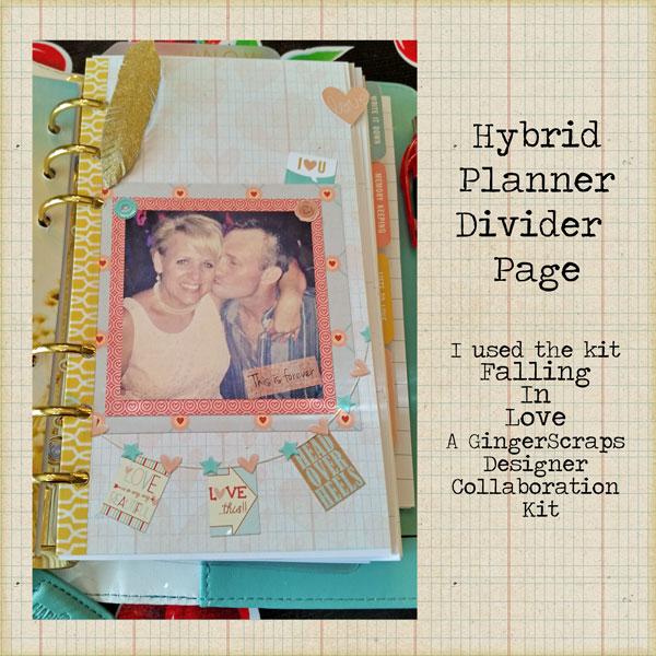 Hybrid Planner Page Divider