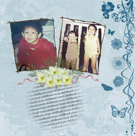 Ririn And Kiki's Sweet Childhood