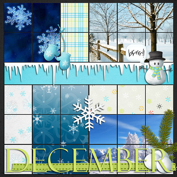 template calendrier