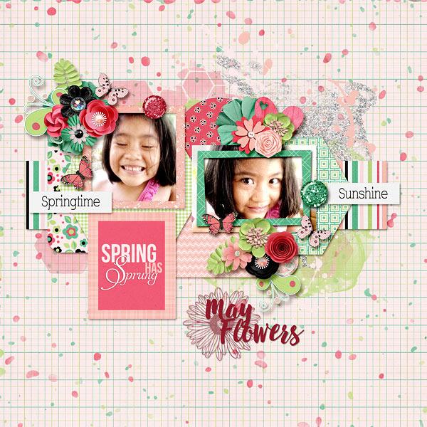 May Flower Girl
