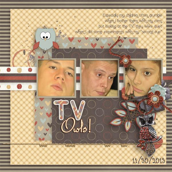 TV Owls (SlowScrap)
