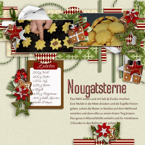 Nougatsterne - CookiesPage N