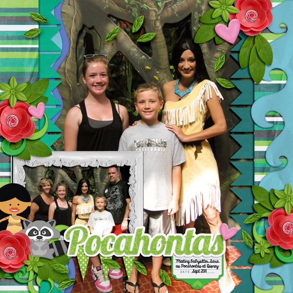 Visit With Pocahontas