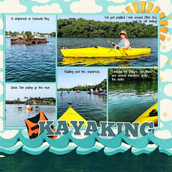 Kayaking, right side
