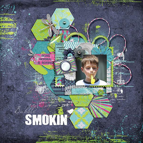 Bubble Smokin