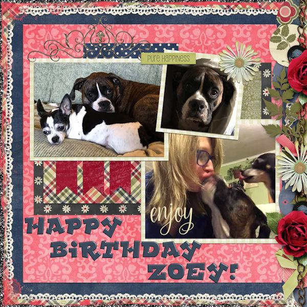 Happy Bday Zoey