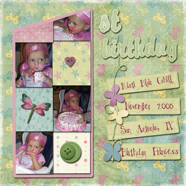 1st Birthday - Misti