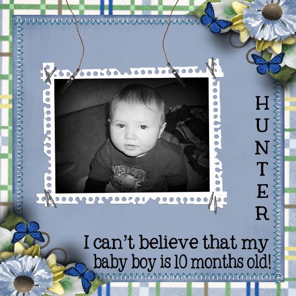Hunter 10 Months