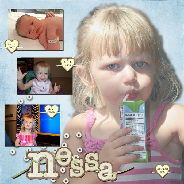 N is for Nessa