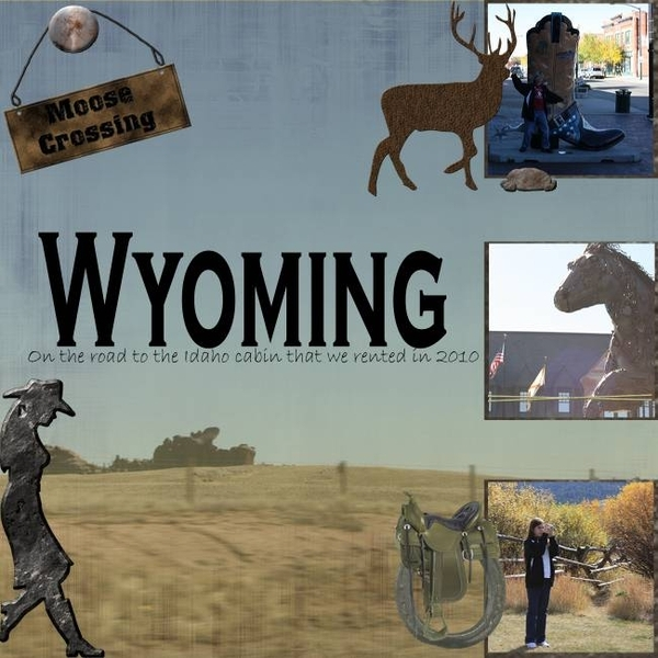 W is for Wyoming