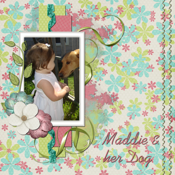 maddie and her dog