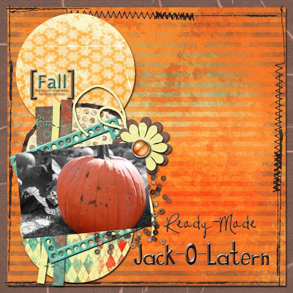 Ready-Made Jack-O-Latern