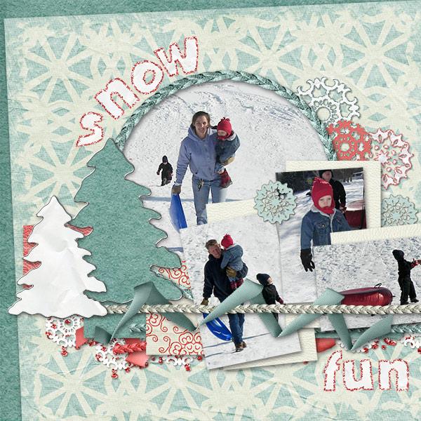 Snow Fun Sledding p1
