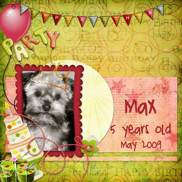 Happy Birthday to Max