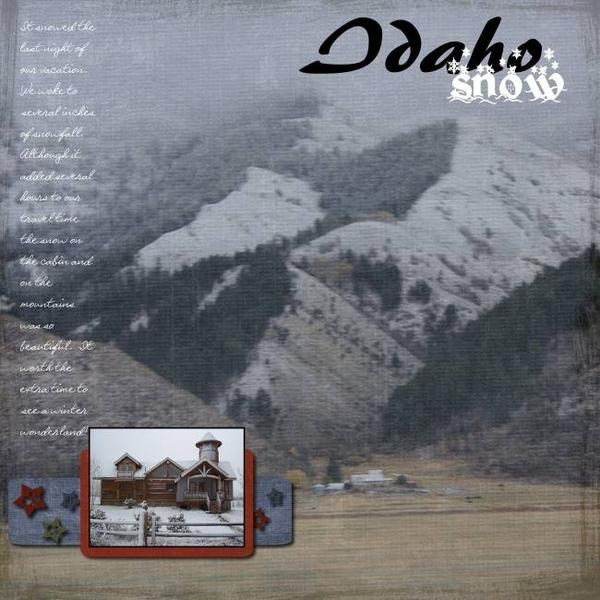Idaho Snow