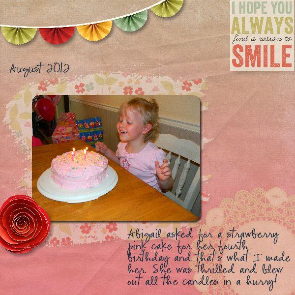 Abby's Fourth Birthday