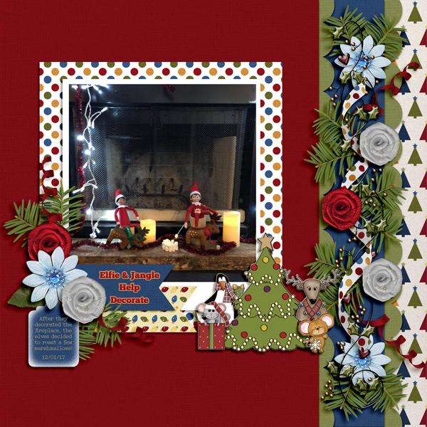 Elfie and Jangle Help Decorate