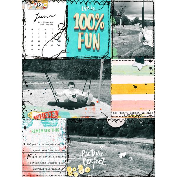 Life is 100% fun