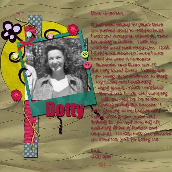 Dear Dotty