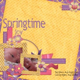 Springtime joy