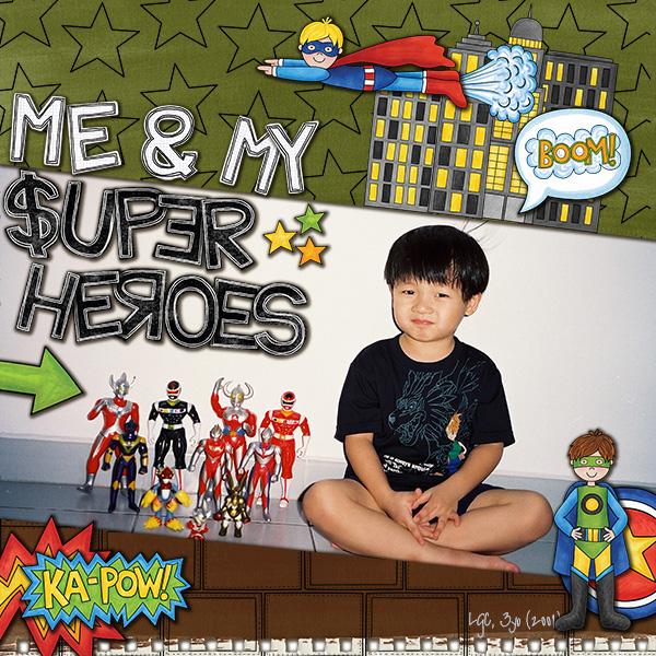 Me & My Super Heroes
