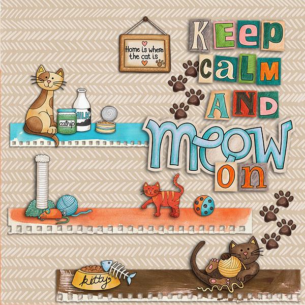 Keep Calm & Meow On
