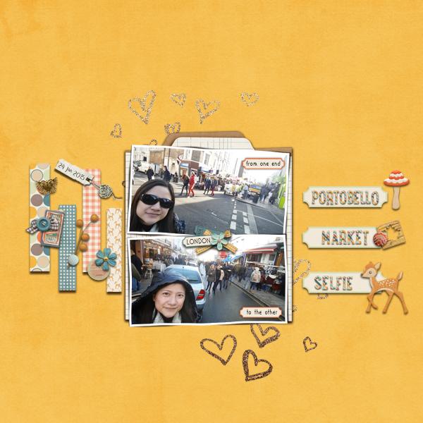 Portobello Selfie
