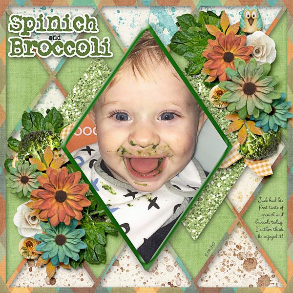 Spinich & Broccoli