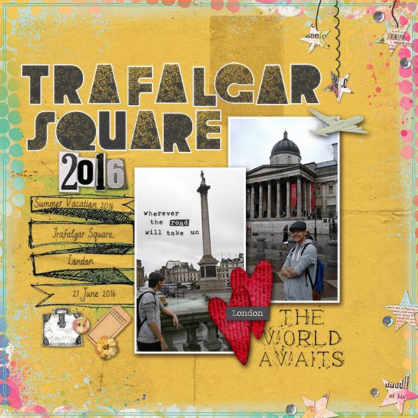 Trafalgar Square 2016