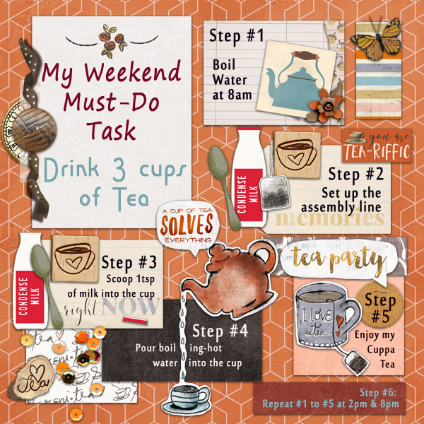 My Weekend Must-Do Task
