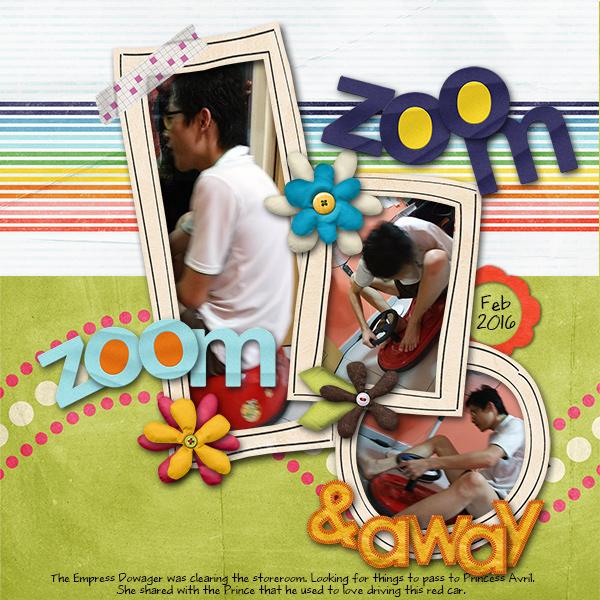 Zoom, Zoom & Away