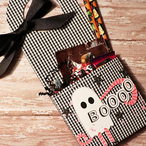 Booooo Halloween Door Hanger