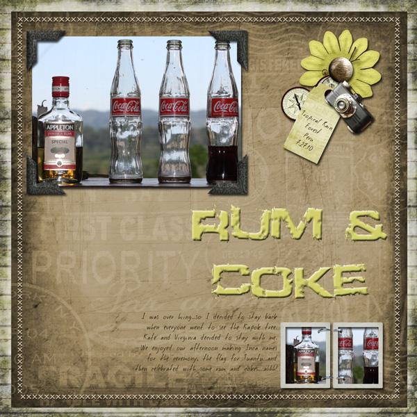 Rum & Coke (Speed Scrap10/11)