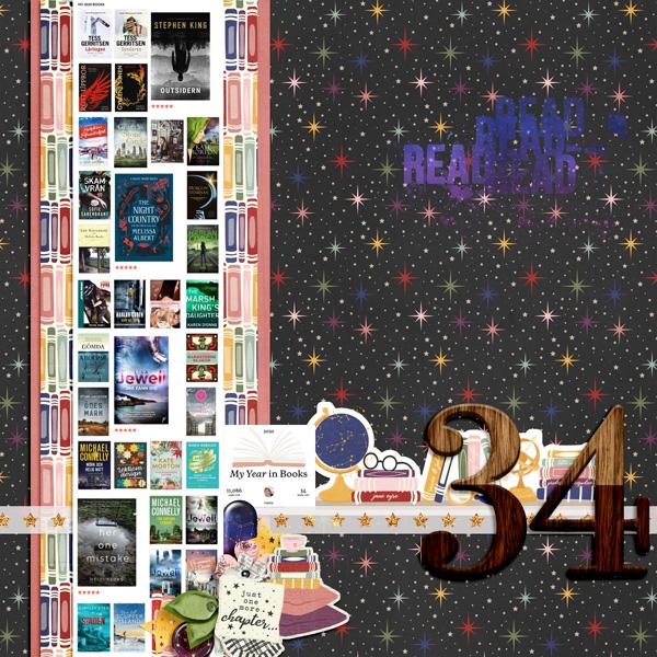 34 Books in 2020