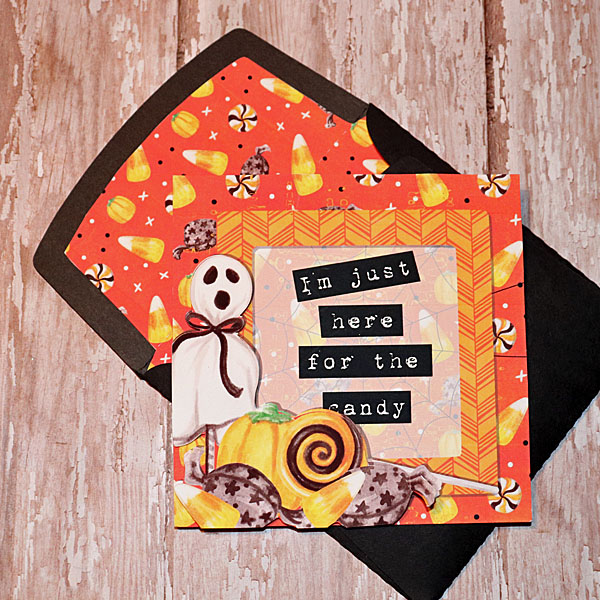 Just Say Boo Halloween card