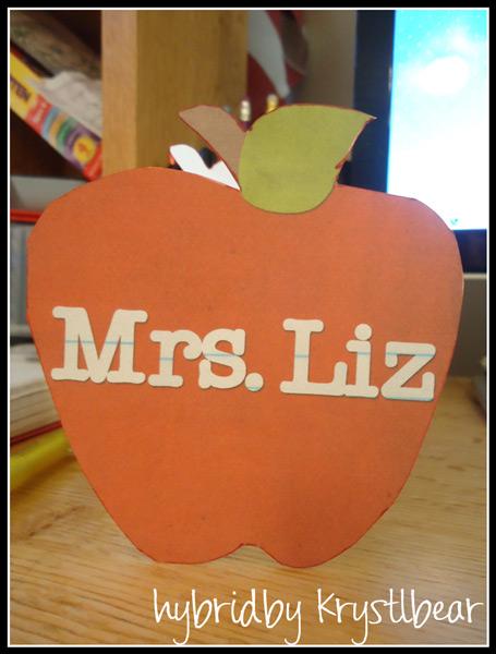 Apple Card For Teacher