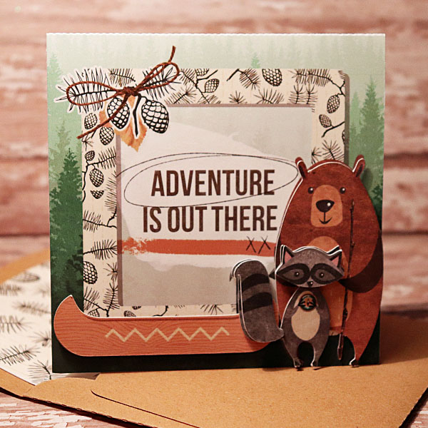 Wilderness Card with matching envie
