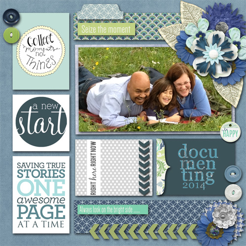 Project Life 2014 - cover page