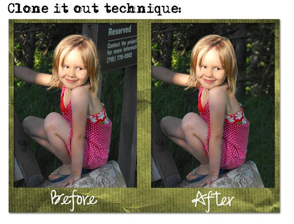 Clone it out technique; OTS challenge 1
