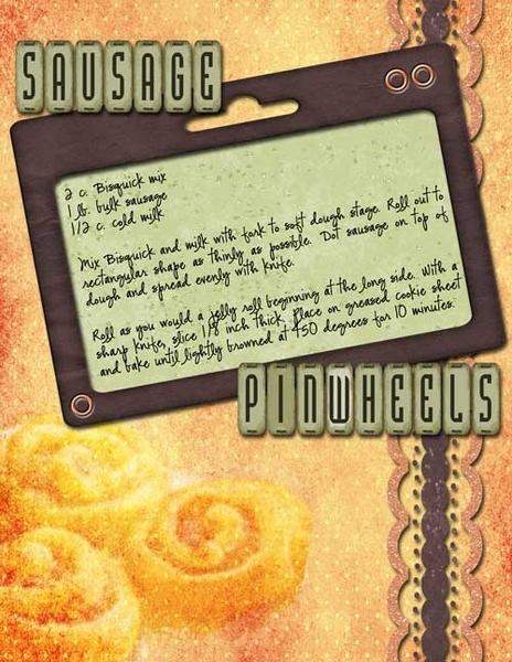 Sausage Pinwheels