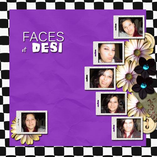 Faces of Desi