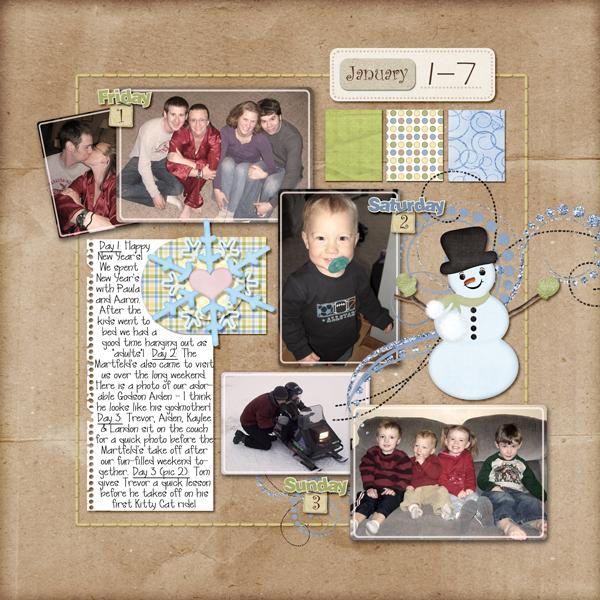 Project 365: January 1-7, 2010