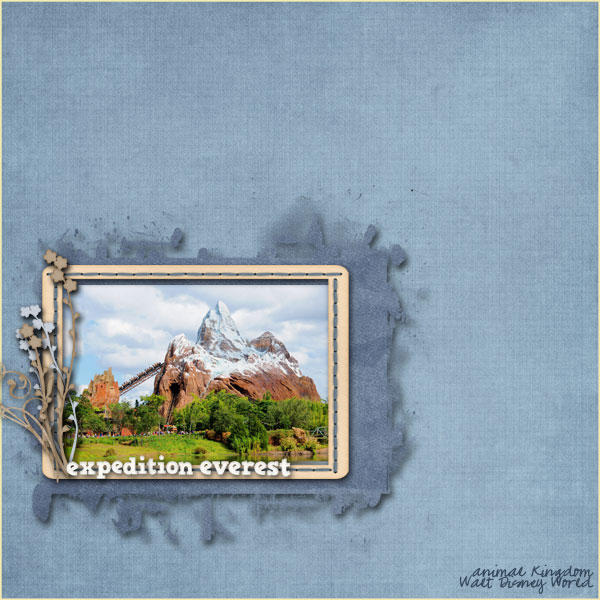 Expedition Everest at WDW