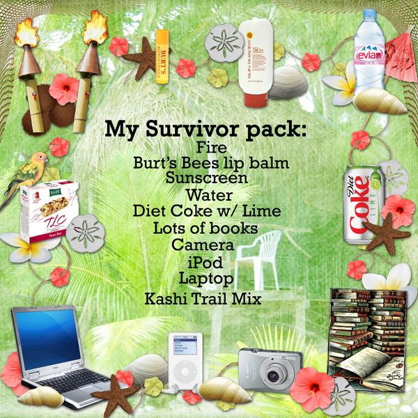 My Survivor Camp