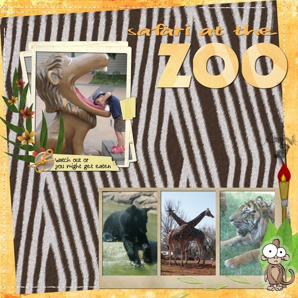 safari at the zoo