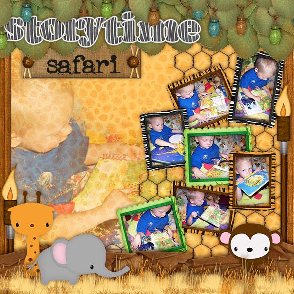 Storytime Safari