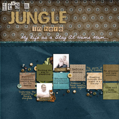 It's A Jungle In Here (pg 1)